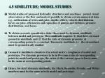 4 5 similitude model studies