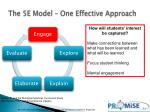 the 5e model one effective approach1