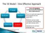 the 5e model one effective approach3