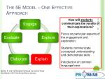 the 5e model one effective approach4