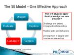 the 5e model one effective approach5