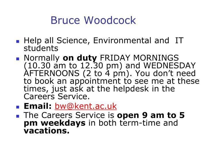 Bruce Woodcock