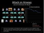 attack on airways loss of a particular air route