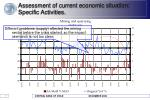 assessment of current economic situation specific activities1