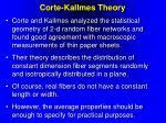 corte kallmes theory