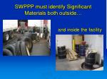 swppp must identify significant materials both outside