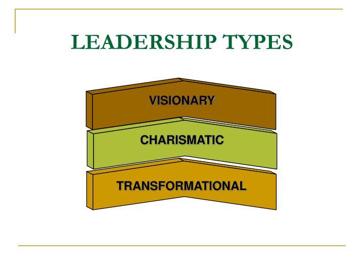 LEADERSHIP TYPES