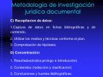 metodolog a de investigaci n juridica documental2