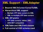 xml support xmladapter
