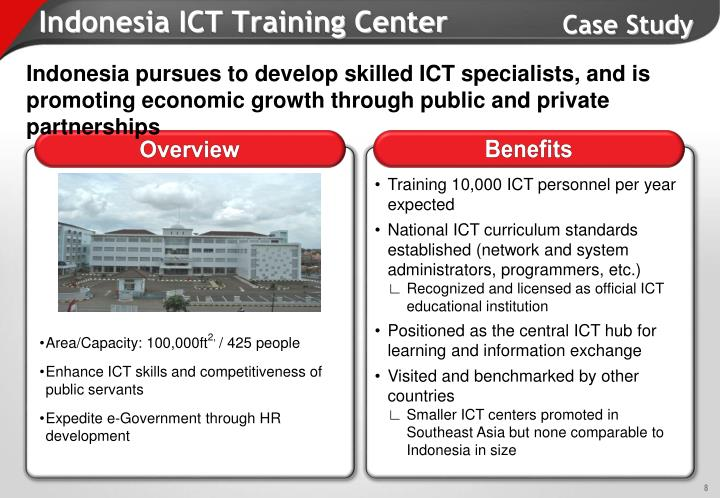 Indonesia ICT Training Center