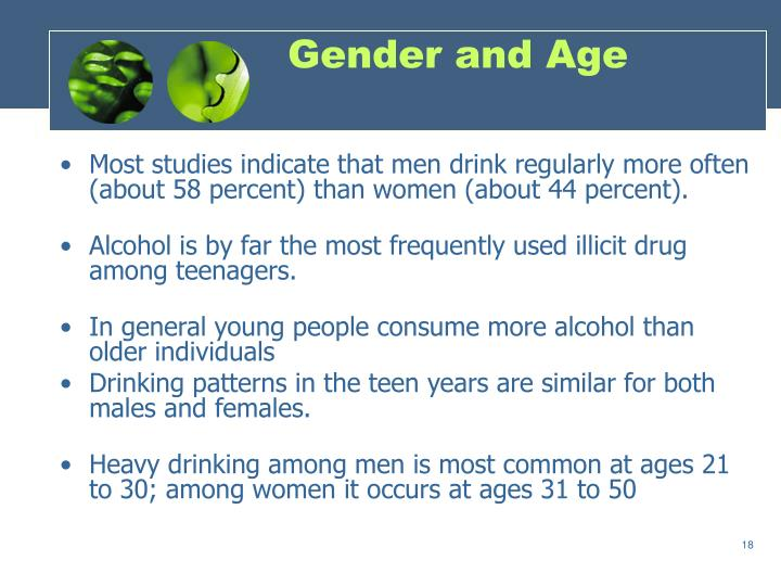 Gender and Age