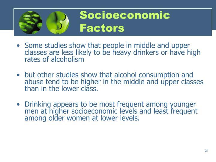Socioeconomic Factors