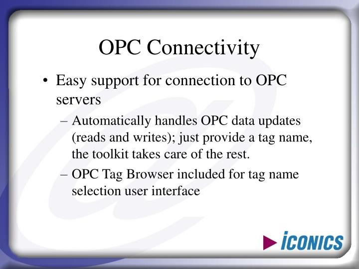 OPC Connectivity