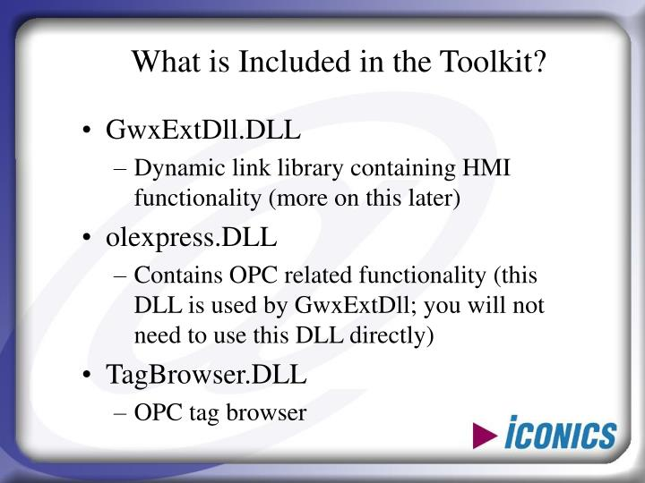 What is Included in the Toolkit?