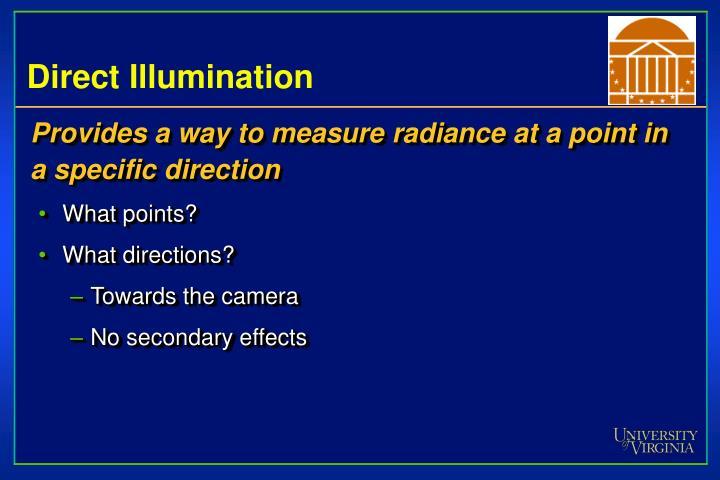 Direct Illumination