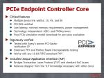 pcie endpoint controller core