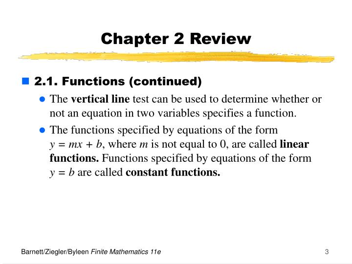 Chapter 2 review1