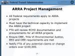 arra project management