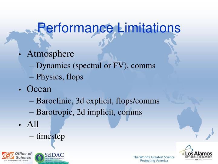 Performance Limitations