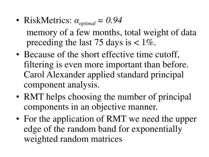 RiskMetrics: