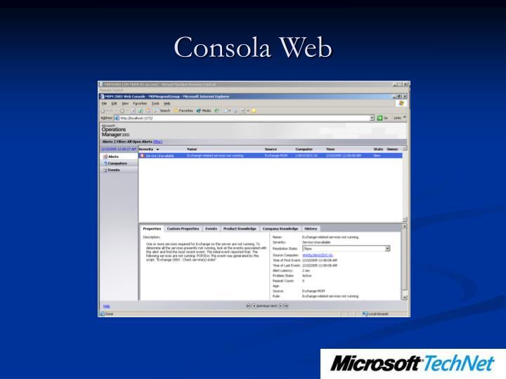 Consola Web