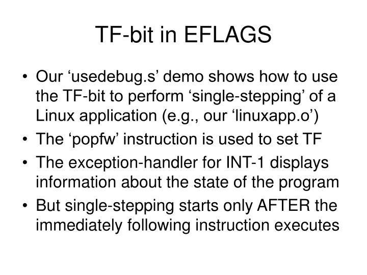 TF-bit in EFLAGS