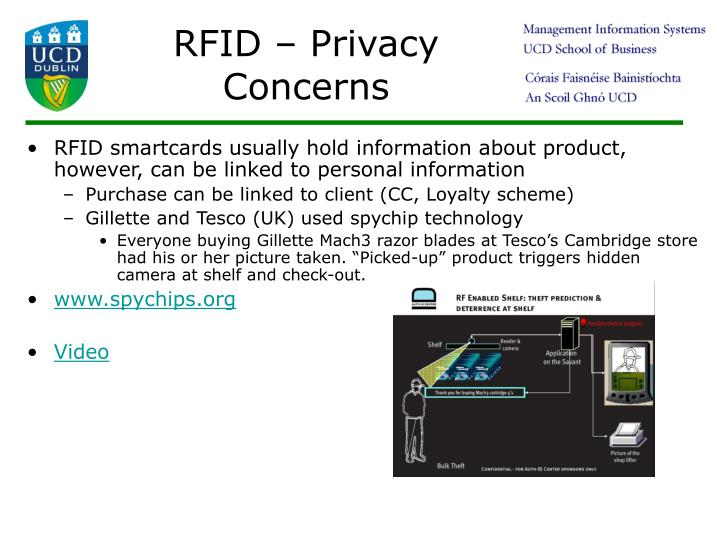RFID – Privacy Concerns