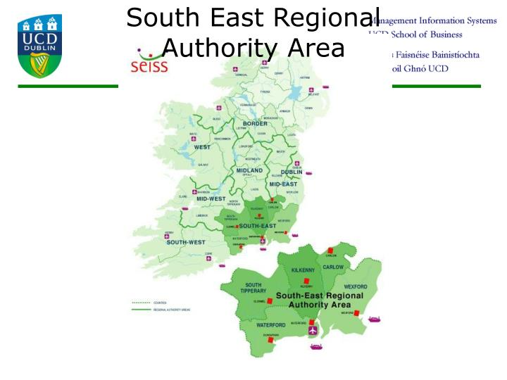 South East Regional Authority Area