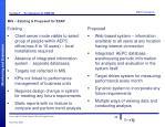 mis existing proposed for esap