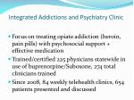 integrated addictions and psychiatry clinic