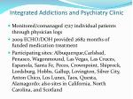 integrated addictions and psychiatry clinic1