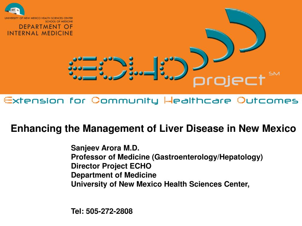 PPT - Enhancing the Management of Liver Disease in New