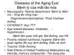 diseases of the aging eye b nh l c a m t l o h a
