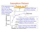 ionosphere dataset 351 points in r 34