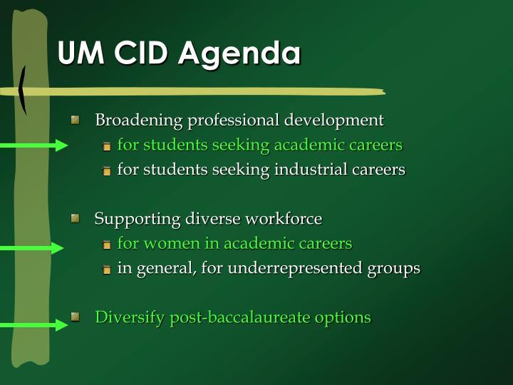Um cid agenda