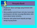 penyata bank