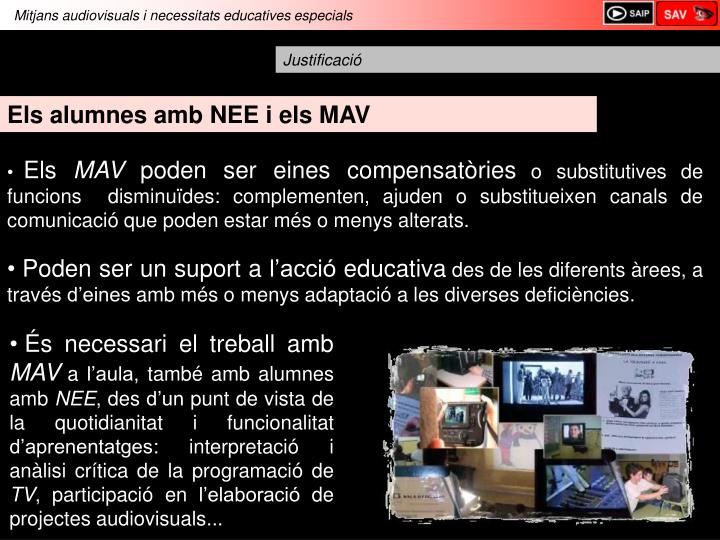Mitjans audiovisuals i necessitats educatives especials