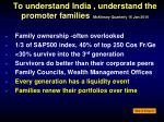 to understand india understand the promoter families mckinsey quarterly 16 jan 2010