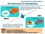 3 restrictions to amendments