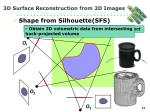 3d surface reconstruction from 2d images15