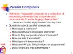 parallel computers