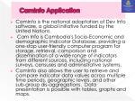 caminfo application