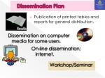 dissemination plan
