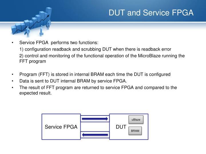 DUT and Service FPGA