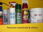 personal insecticide others