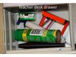 teacher desk drawer