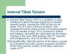 internal tibial torsion1
