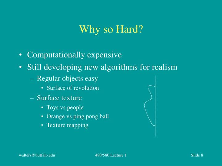 Why so Hard?