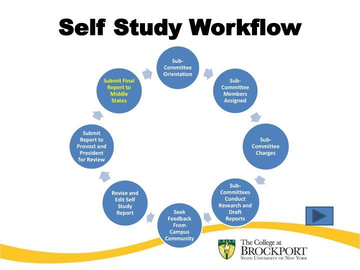 Self Study Workflow