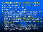 comercios de chile peru